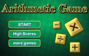 The Arithmetic Game