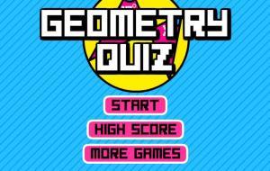 Geometry Quiz Game