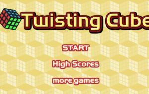 Rubik's Twisting Cube Game