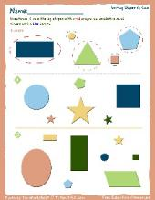 PDF: Kindergarten Math - sorting