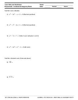 PDF: Algebra - polynomials