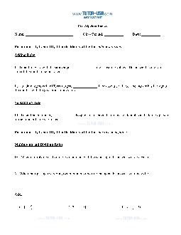 Worksheet: Integers - Rules - Add, Subtract, Multiply, & Divide ...