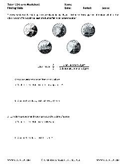 PDF: Pre-Algebra - odds
