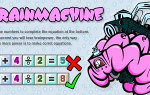 Brain Machine Game