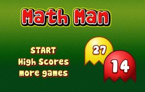 Math Pac Man Game