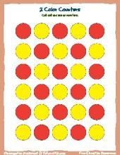 PDF: Kindergarten Math - counters