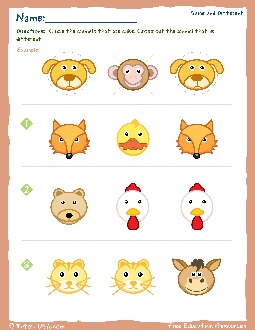 PDF: Kindergarten Math - sorting